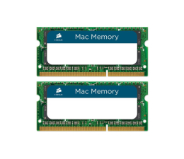 Pamięć RAM SODIMM DDR3 Corsair 16GB 1600MHz Mac Memory CL11 1.35V (2x8GB)