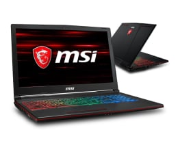 "Notebook / Laptop 15,6"" MSI GP63 i7-8750H/8GB/1TB GTX1060"
