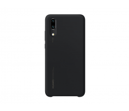 Etui/obudowa na smartfona Huawei Silikonowe Plecki do Huawei P20 czarny