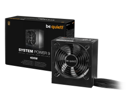 Zasilacz do komputera be quiet! System Power 9 400W 80 Plus Bronze