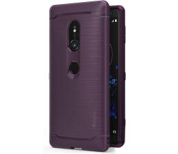 Etui / obudowa na smartfona Ringke Onyx do Sony Xperia XZ2 Lilac Purple