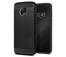 Etui/obudowa na smartfona Spigen Rugged Armor do Motorola Moto G6 Plus Black