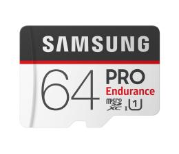 Karta pamięci microSD Samsung 64GB microSDXC PRO Endurance UHS-I 100MB/s