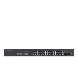 Switch Zyxel 26p GS1900-24HP (24x100/1000Mbit PoE, 2xSFP)