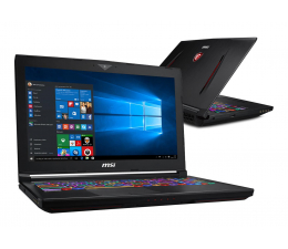 "Notebook / Laptop 15,6"" MSI GT63 i7-8750H/32GB/512+1TB/Win10 RTX2070 IPS"