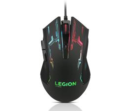 Myszka przewodowa Lenovo Legion M200 Gaming Mouse (czarny, RGB, 2400dpi)