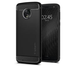 Etui/obudowa na smartfona Spigen Rugged Armor do Motorola Moto G6 Black