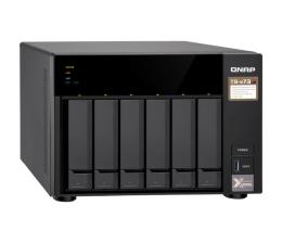 Dysk sieciowy NAS / macierz QNAP TS-673-4G (6xHDD, 4x2.1-3.4GHz, 4GB,4xUSB,4xLAN)