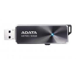Pendrive (pamięć USB) ADATA 64GB Dashdrive Elite UE700 czarny (USB 3.0)