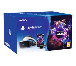 Gogle VR Sony PlayStation VR CUH-ZVR2+PS Camera V2+VR Worlds