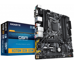 Płyta główna Socket 1151 Gigabyte H370M D3H GSM