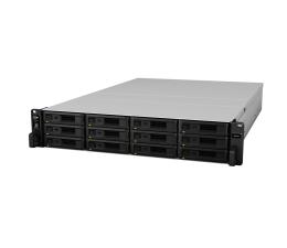 Dysk sieciowy NAS / macierz Synology RS2418+ RACK (12xHDD, 4x2.1GHz, 4GB, 2xUSB, 4xLAN)