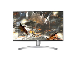 "Monitor LED 27"" LG 27UK650-W 4K HDR"