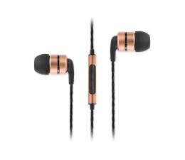 Słuchawki przewodowe SoundMagic E80C Black-Gold