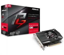 Karta graficzna AMD ASRock Radeon RX 560 Phantom Gaming 2GB GDDR5