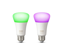 Inteligentna żarówka Philips Hue White and Color Ambiance (2szt. E27 9W )