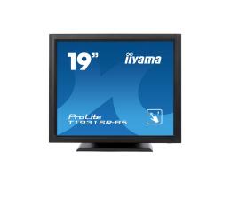 """Monitor LED 21"""" i mniejszy iiyama T1931SR dotykowy czarny"""