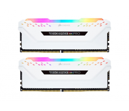 Pamięć RAM DDR4 Corsair 32GB 3200MHz Vengeance RGB PRO White CL16 (2x16GB)