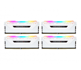 Pamięć RAM DDR4 Corsair 32GB 3000MHz Vengeance RGB PRO White CL15 (4x8GB)