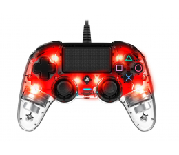 Pad Nacon PS4 Compact Controller Light Red