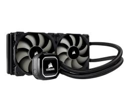 Chłodzenie procesora Corsair Hydro Series H100x biały 2x120mm