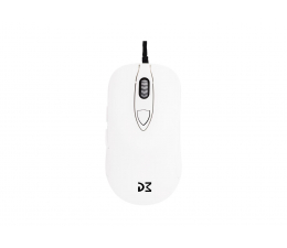 Myszka przewodowa Dream Machines DM1 FPS (16000 dpi, Blizzard White)