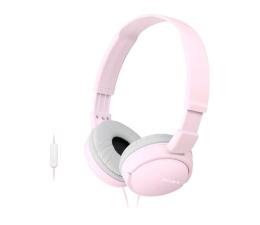 Słuchawki przewodowe Sony MDR-ZX110AP Różowe