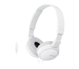 Słuchawki przewodowe Sony MDR-ZX110AP Białe