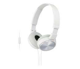 Słuchawki przewodowe Sony MDR-ZX310AP Białe