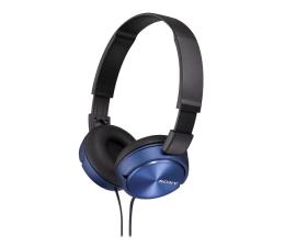 Słuchawki przewodowe Sony MDR-ZX310 Niebieskie