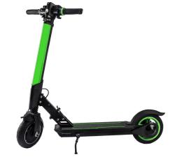 Hulajnoga elektryczna Koowheel E1 Zielona kolorowe oświetlenie