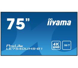 """Monitor LED 32"""" i większy iiyama LE7540UHS LFD"""