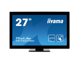 "Monitor LED 27"" iiyama T2736MSC-B1 dotykowy"