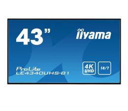 "Monitor LED 32"" i większy iiyama LE4340UHS LFD 4K"