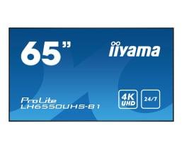 "Monitor LED 32"" i większy iiyama LH6550UHS LFD 4K"