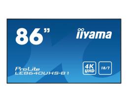"""Monitor LED 32"""" i większy iiyama LE8640UHS LFD"""