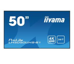 "Monitor LED 32"" i większy iiyama LH5050UHS LFD 4K"