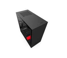 Obudowa do komputera NZXT H500i matowa czarna/czerwona