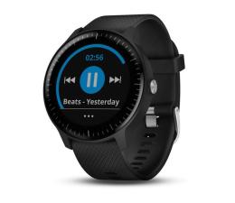 Zegarek sportowy Garmin Vivoactive 3 Music Czarny z Czarnym Paskiem