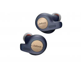 Słuchawki True Wireless Jabra Elite Active 65t miedziano - niebieskie