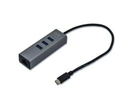 Hub USB i-tec Hub USB-C - 3x USB 3.0, RJ-45 (Gigabit Ethernet)