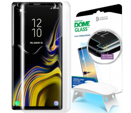 Folia/szkło na smartfon Whitestone Szkło Hartowane Dome Glass + UV do Galaxy Note 9