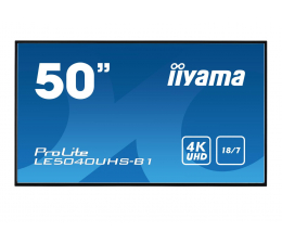"Monitor LED 32"" i większy iiyama LE5040UHS LFD 4K"