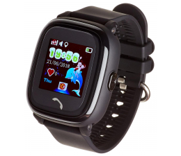 Smartwatch dla dziecka Garett Kids 4 czarny