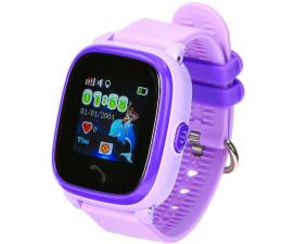 Smartwatch dla dziecka Garett Kids 4 fioletowy