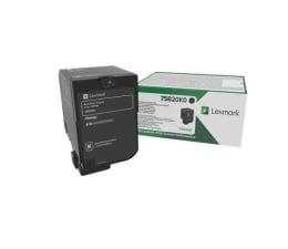 Toner do drukarki Lexmark 75B20K0 czarny 13 000 str.