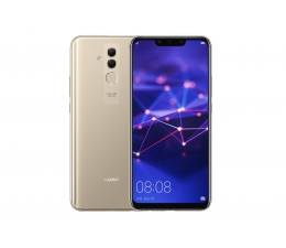 Smartfon / Telefon Huawei Mate 20 Lite Dual SIM złoty