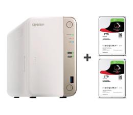 Dysk sieciowy NAS / macierz QNAP TS-251B-2G 4TB (2xHDD, 2x2-2.5GHz, 2GB, 5xUSB)
