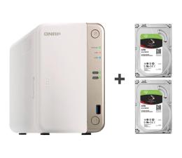 Dysk sieciowy NAS / macierz QNAP TS-251B-2G 8TB (2xHDD, 2x2-2.5GHz, 2GB, 5xUSB)