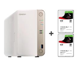 Dysk sieciowy NAS / macierz QNAP TS-251B-2G 12TB (2xHDD, 2x2-2.5GHz, 2GB, 5xUSB)